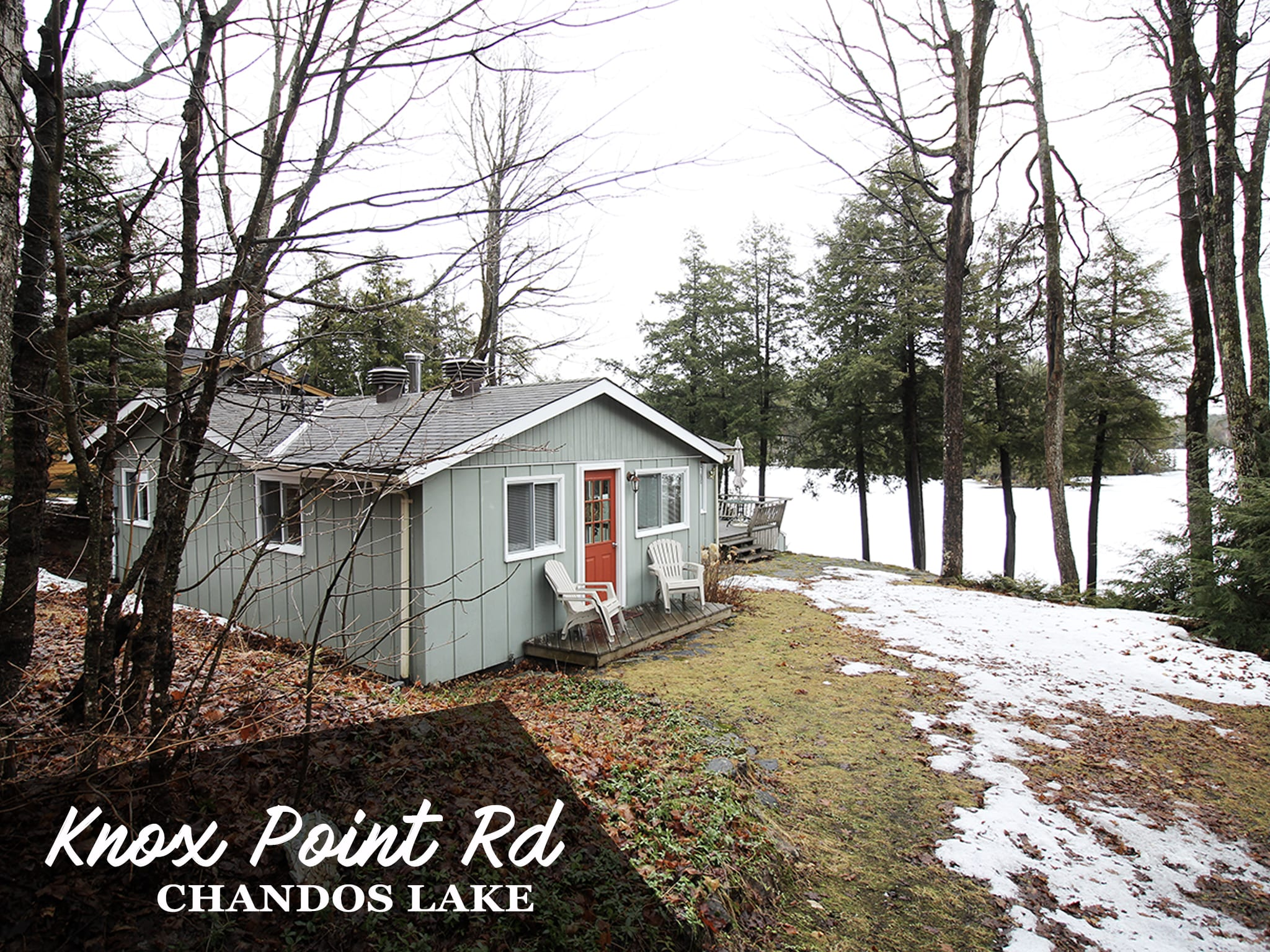 Chandos Lake Cottage for Sale   Cottages for Sale near Aspley Ontario